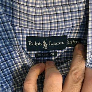 Polo Ralph Lauren designer dress shirt